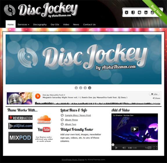 Aloha Themes Disc Jockey Theme Review