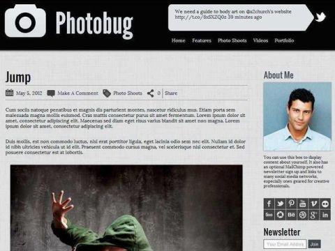Organized Themes Photobug Theme