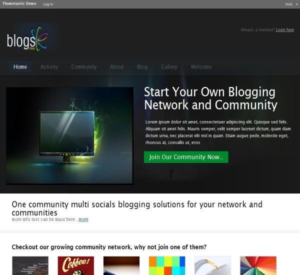 WPMU Dev Blogs MU Theme