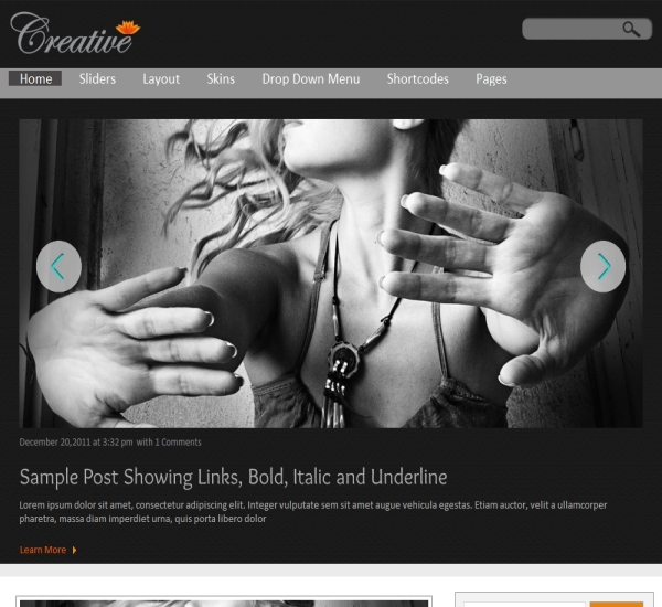 ThemesDesk Creative Theme