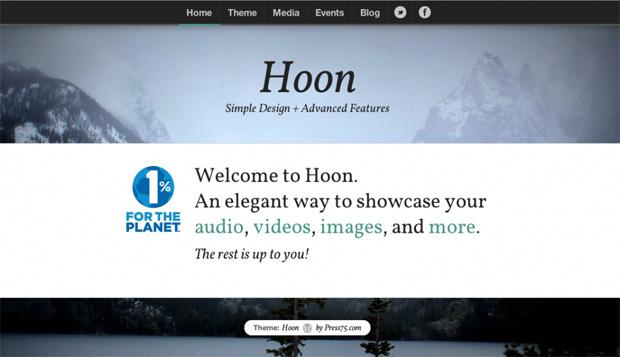 Press75 Hoon Theme