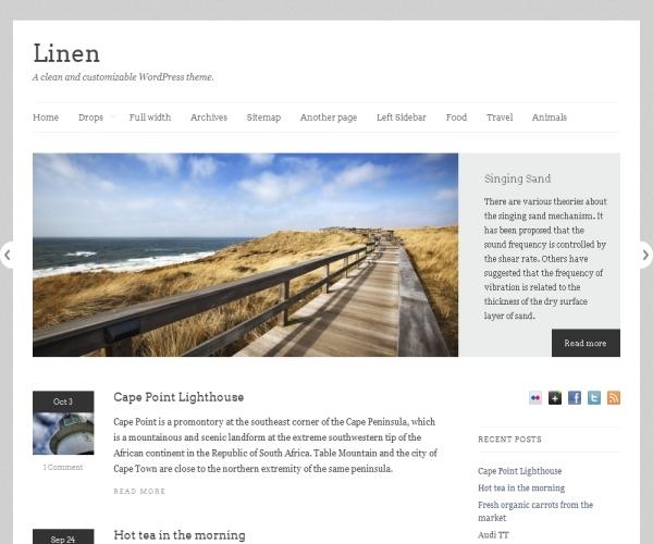 Theme Foundry Linen Theme