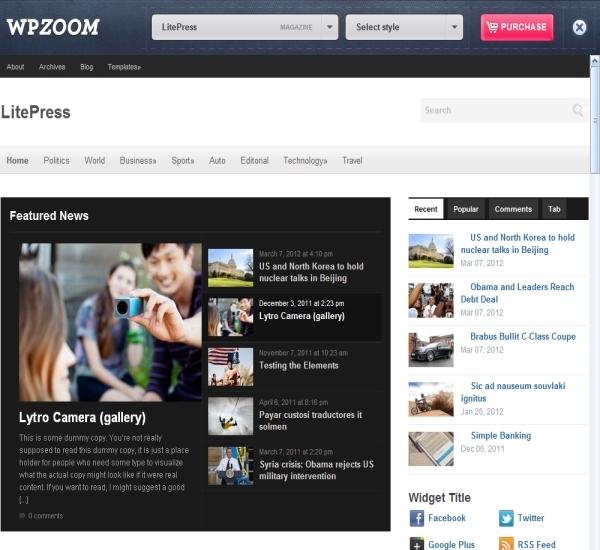 ProudThemes LitePress Theme