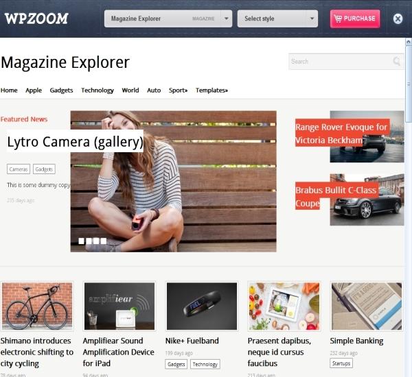ProudThemes Magazine Explorer Theme