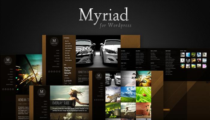MySiteMyWay Myriad Theme