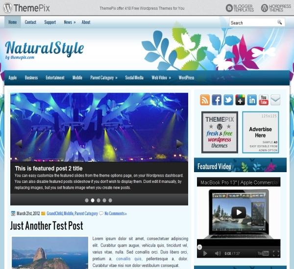 Themepix NaturalStyle Theme