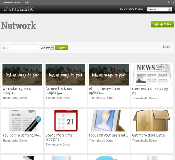 WPMU Dev Network Theme