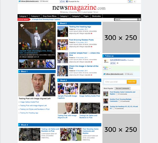 ThemesDesk News Theme