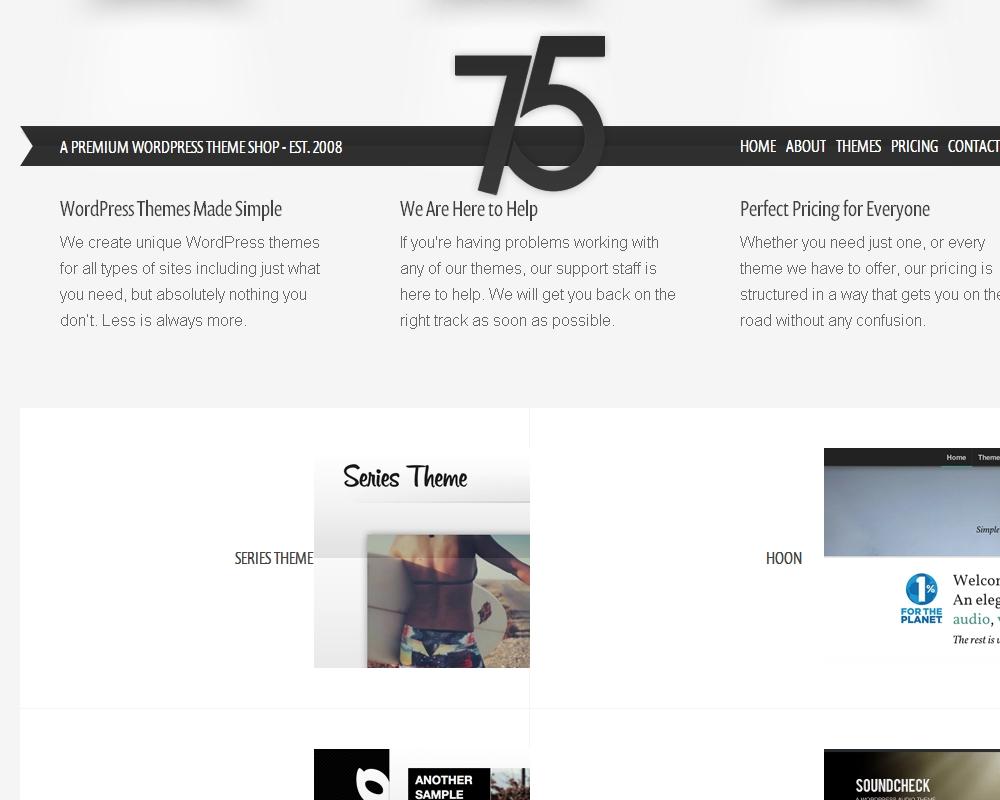 Press75 Themes