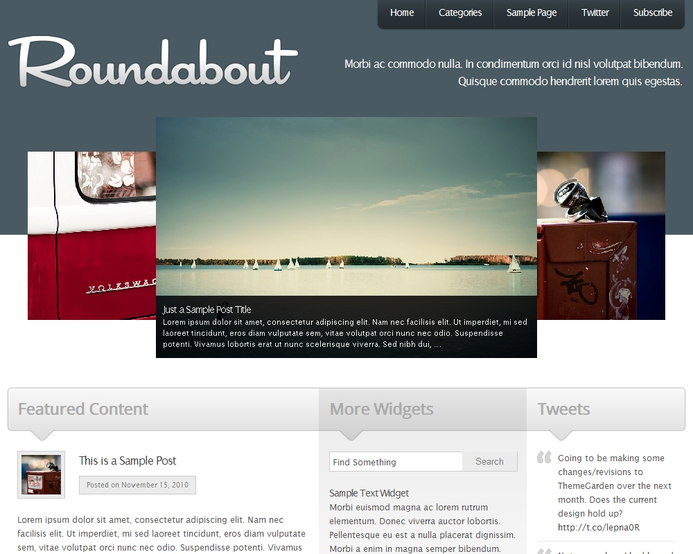 Press75 Roundabout Theme