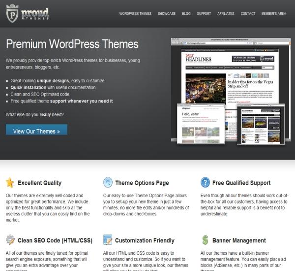 ProudThemes WordPress Themes