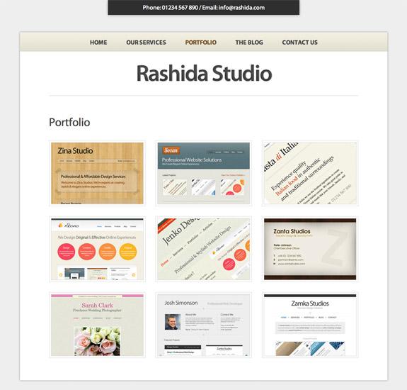 Voosh Themes Rashida Theme