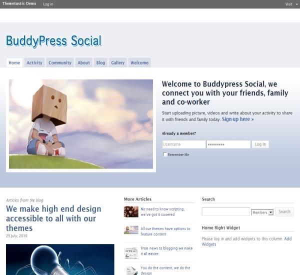 WPMU Dev Social Theme