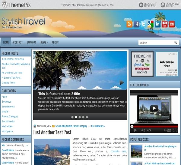 Themepix StylishTravel Theme