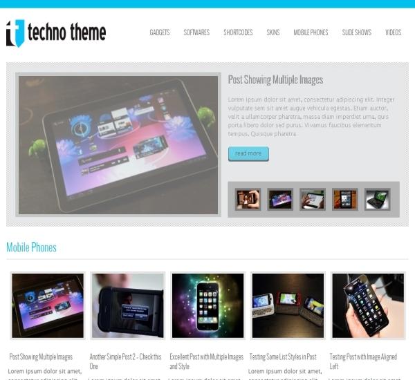 ThemesDesk Tech Theme