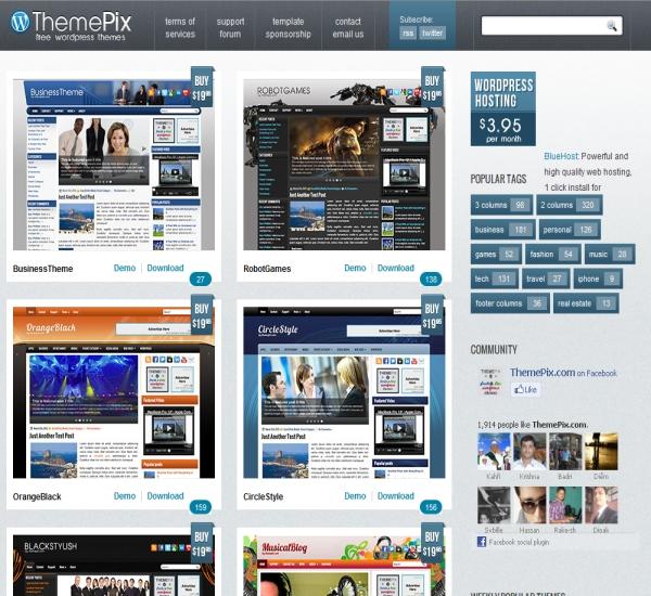 Themepix WordPress Themes
