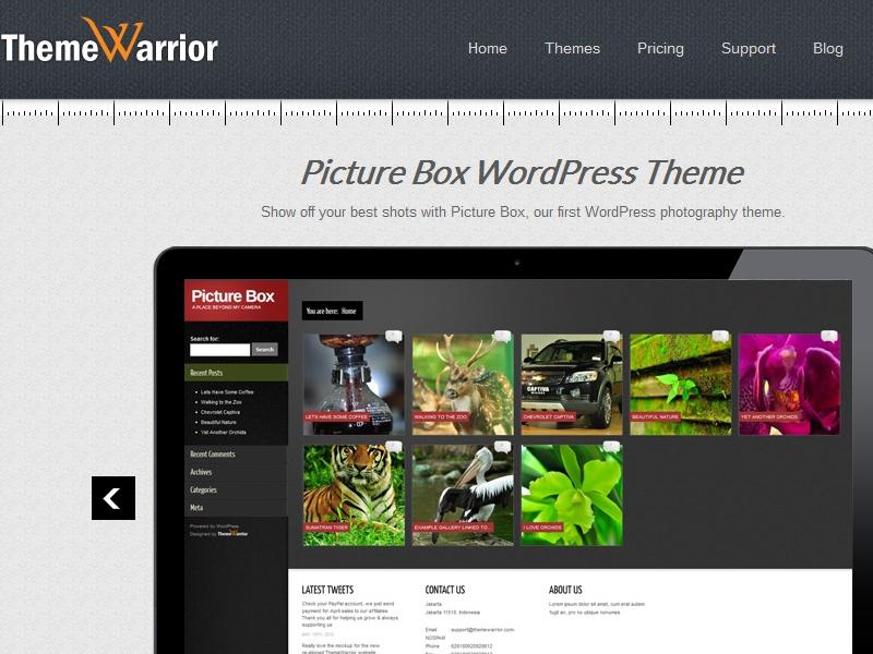 ThemeWarrior Picture Box