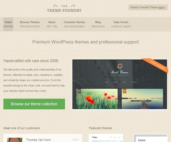 Theme Foundry WordPress Themes