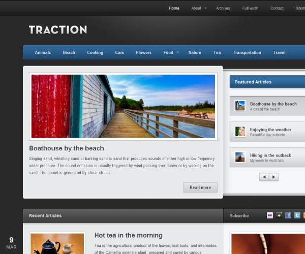 Theme Foundry Traction Theme