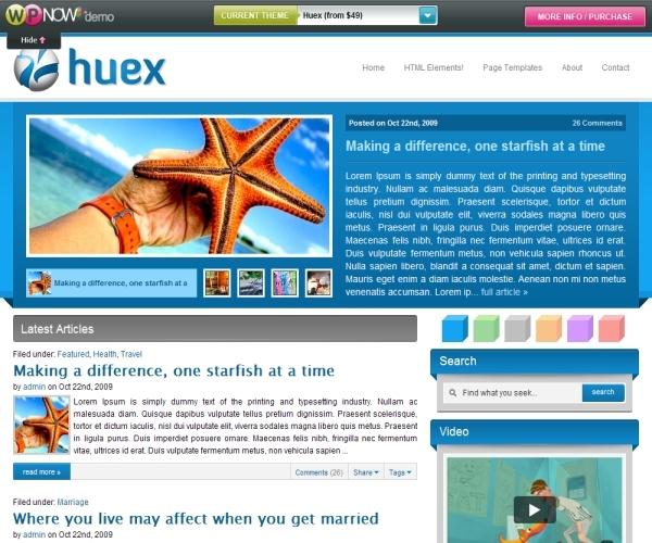 Wpnow Huex Theme