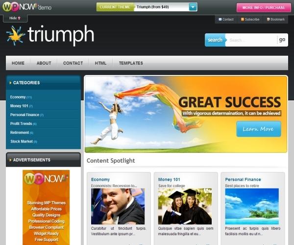 Wpnow Triumph Theme