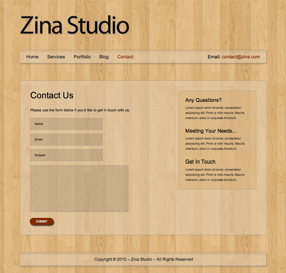 Voosh Themes Zina Theme
