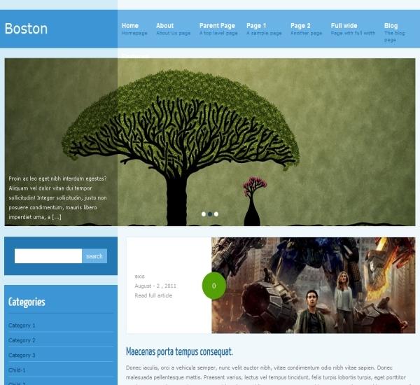 FabThemes Bostan Theme