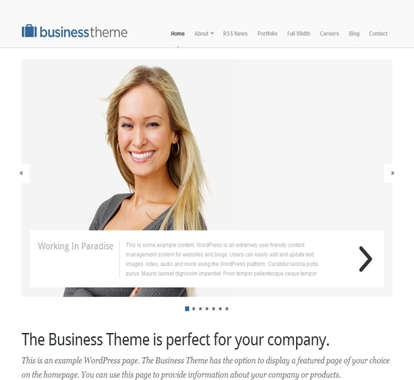 Organic Themes Business Theme