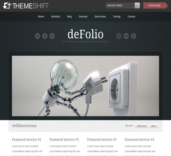 ThemeShift deFolio Theme