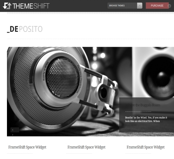 ThemeShift DePosito Theme