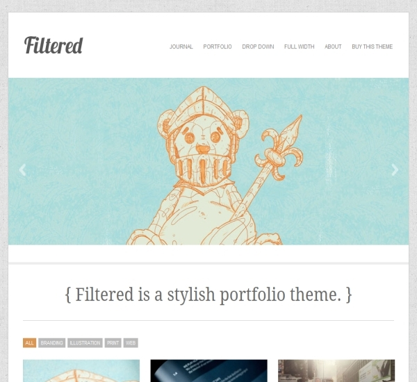Theme Trust Filtered Theme