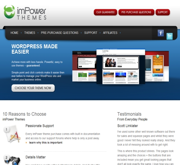ImPower Themes