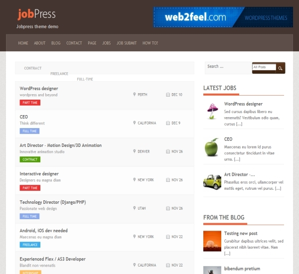 FabThemes JobPress Theme