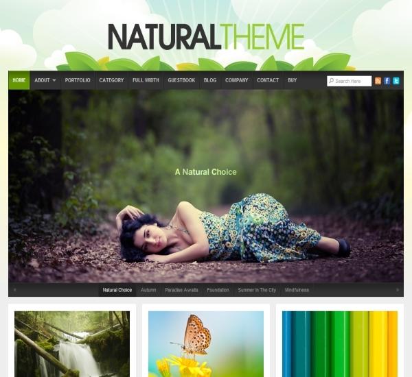Organic Themes Natural Theme