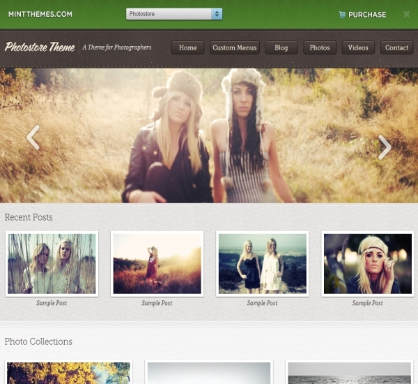 Mint Themes Photostore Theme