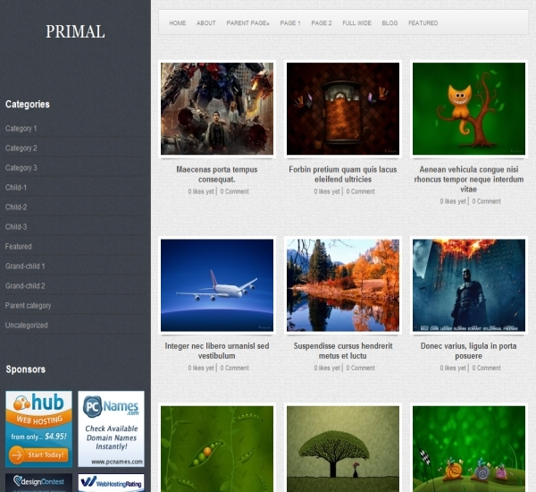 FabThemes Primal Theme