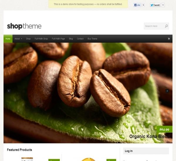 Organic Themes Shop Theme