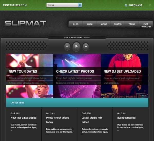 Mint Themes Slipmat Theme