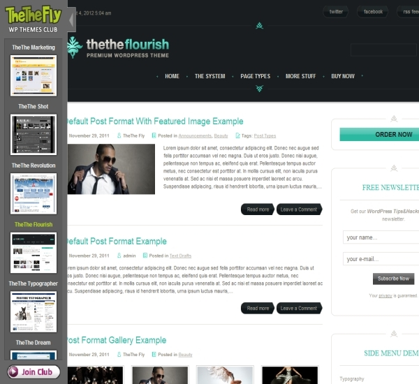 TheThe Flourish Theme