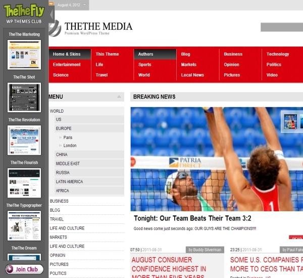 TheThe Media Theme