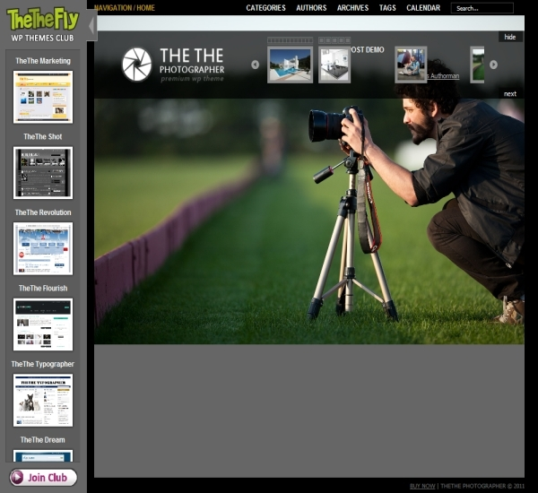 TheThe Photographer Theme