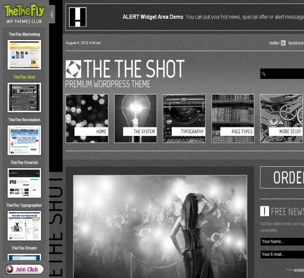 TheThe Shot Theme