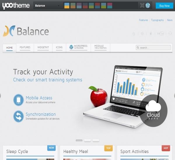 Yootheme Balance WordPress Theme