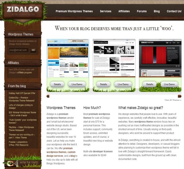 Zidalgo WordPress Themes