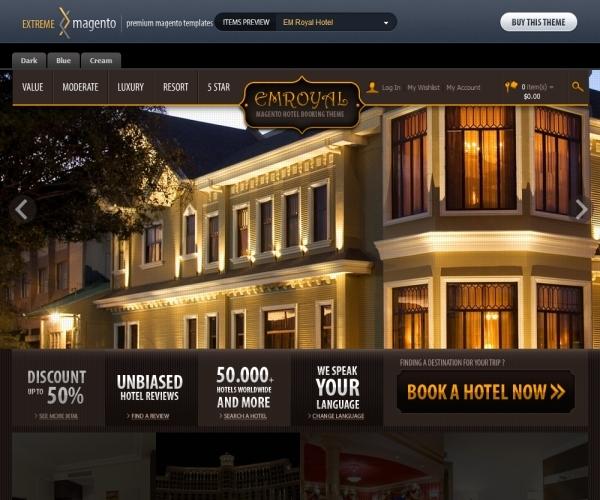 EmThemes Em-Royal Hotel Magento Theme