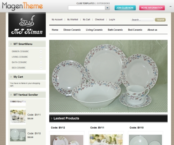 Ceramic Magento Theme MT Himan