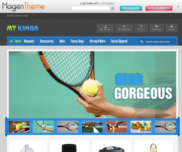 MT Kimpa Sport Magento Theme