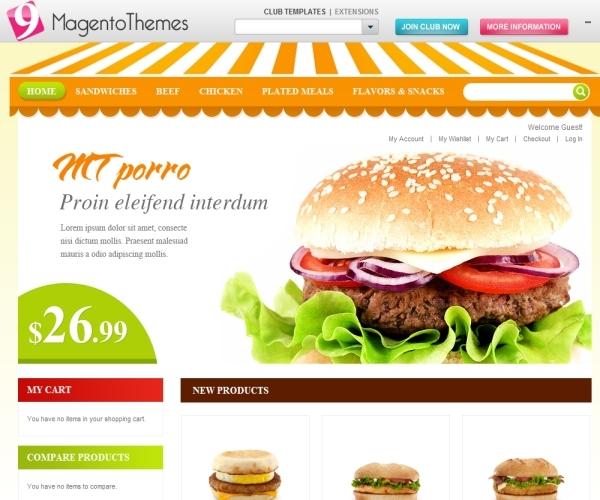 MT Porro Premium Magento Food Store Theme