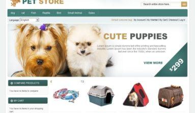 TemplateMela Pet Store Premium Magento Template Review