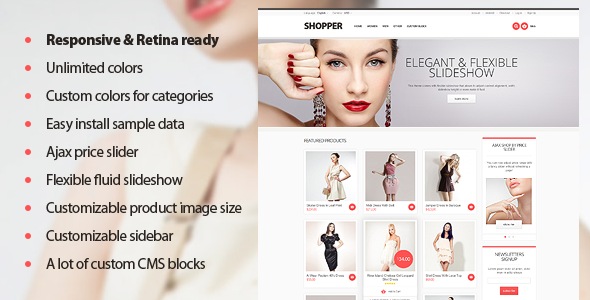 ThemeForest Shopper Magento Theme